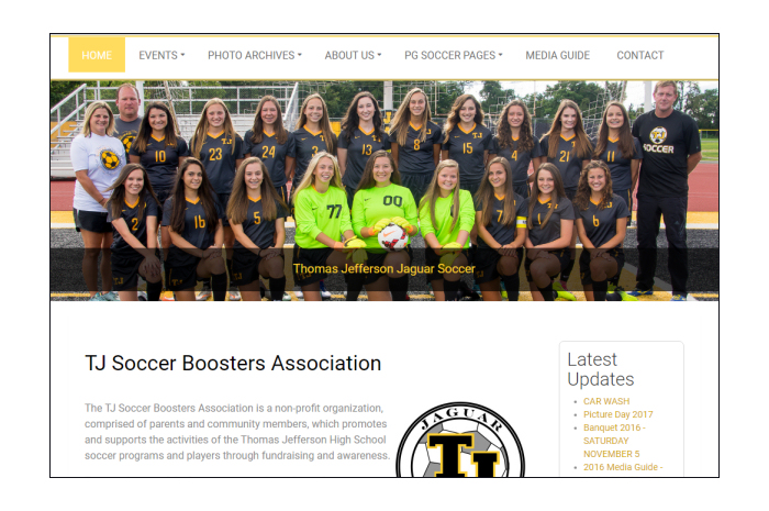 TJ Soccer Boosters
